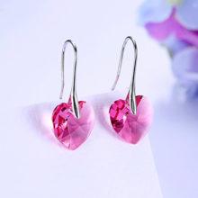Súprava šperkov SRDCE kryštál SWAROVSKI 7farieb Heart Jewelry Set