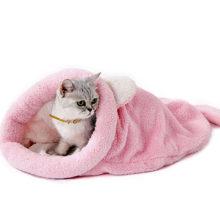 Teplý mäkký pelech SPACÍ VAK pre mačku a malé psíky 3farby Warm Cat Bed