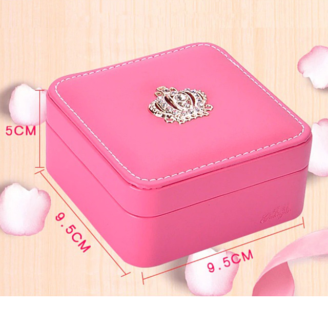 Mini šperkovnica QUEEN 6farieb Small Jewelry Box 6colors