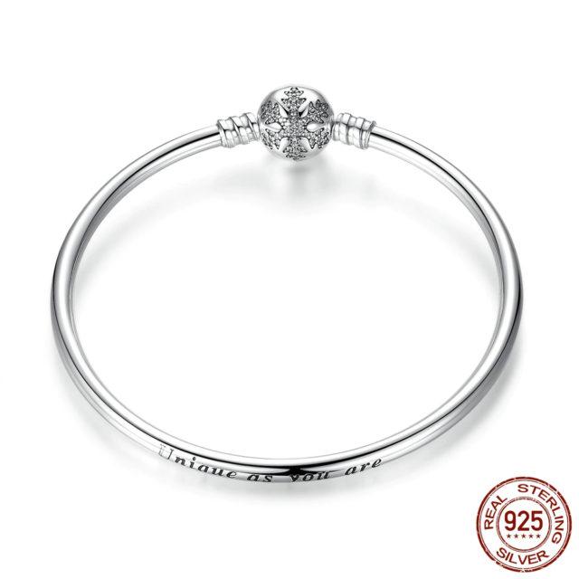 Strieborný náramok štýl Pandora 8vzorov Silver Pandora Style Bracelet 8patterns