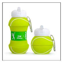 Skladacia fľaša na vodu FUTBAL TENIS BASKETBAL
